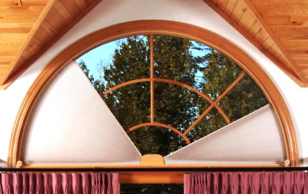 Arched Window Treatments Adjust A View Moveable Arches By Omega Moveable Arched Window Treatments For Half And Quarter Circle Windows Gallery