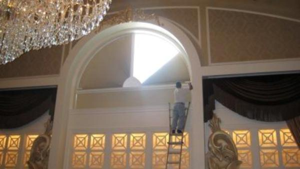 Arch Window Shade Shades Archives Window Works Studio With Cincinnati Blinds Affordable Blinds